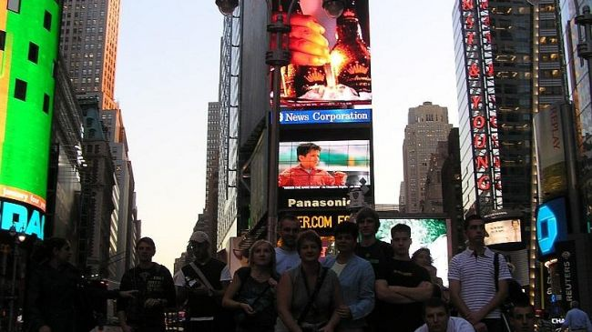 Nowy Jork- Time Square